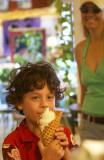 waffle cones at Oz!