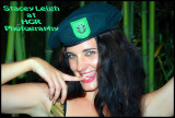 HGRP Model Stacey Leigh in the Green