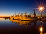 Fulton Marina at Twilight
