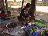 Making Kao Toom for Tai Dam New Year