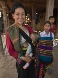 Tai Dam woman and child