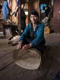 Basket weaving, Ban nam Noi - Vieng Poukha - Laos