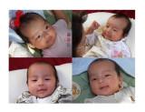 Four Baby Smiles
