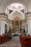 Inside Our Lady of Guadalupe church