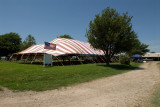Old revival tent!