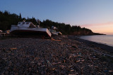 Sunset at Harbourville beach
