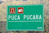 Puca Pucara, an Inca sight not far from Cusco on the road to Pisaq