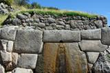 Tambomachay - spring, El Baño del Inca
