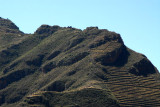 The Inca Citadel of Pisaq high above the Sacred Valley