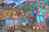 Inca mural, Pisaq