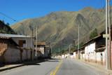 Village between Urcos and Quiquijana