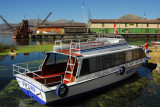 Wari II - a tourist boat for the floating islands of Lake Titicaca