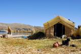 Isla Flotante - Lago Titicaca