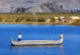 Large reed boat, Lake Titicaca