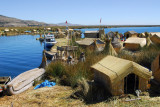 View from the observation tower, Uros Islands