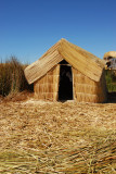 Reed hut, Uros Islands