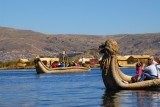 Reed boat, Lake Titicaca
