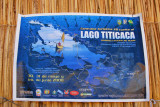 Map of Lake Titicaca