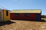 Elementary school, Uros Islands, Lake Titicaca