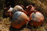 Clay pots, Uros Islands, Lake Titicaca