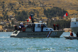 Small Peruvian coast guard (Guardacostas) patrol boat #293, Lake Titicaca