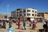 The edge of Puno's large weekly market