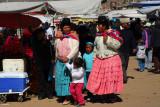 Walking around the market, Puno