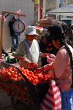 Tomatoes, Puno market