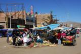 Puno Market along Simon Bolivar Avenue
