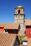 Puno Cathedral from Casa del Corregidor