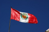 Peruvian flag, Puno