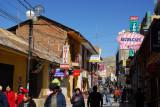 Calle Lima, Puno's pedestrian zone