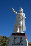 Manco Capac, the 1st Inca, Huajsapata Park, Puno