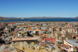 View east over Puno from Huajsapata Park