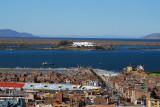 Lake Titicaca and the Hotel Libertador, Puno