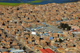 Puno with the market building from Cerro Asogini