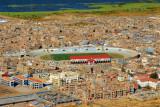Puno stadium from Cerro Asogini