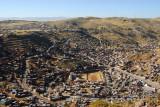 View north from Cerro Asogini