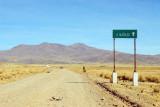 We're not lost...yet...still en route to Mañazo (Puno)