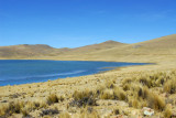 Small lake in the high Andes (14,450ft)