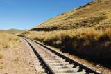 The Juliaca-Arequipa Railroad just south of Santa Lucia