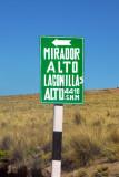 Mirador Laguna Lagunillas - 4410m