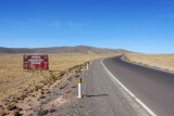 Crossing from the Puno Region to the Arequipa Region