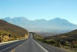 Heading towards the volcanoes of Arequipa - Nevado Chachani 6057m (19,872ft)