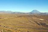 Looking accross the Salinas y Aguada Blanca reserve to El Misti