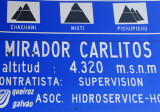 Mirador Carlitos 4320m (14,173ft)