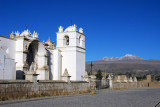 Church, Plaza and Mountain, Yanque