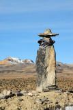 Cowboy of piled stones - Mirador Los Andes