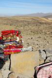 Souvenir sellers, Mirador Los Andes