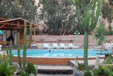 Pool of the Hosteria Suiza, Huacachina